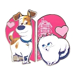 Universal Pin Set - Secret Life Of Pets - Max and Gidget