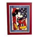 Disney Fine Art - Lithograph on Paper - Red White and Blue Jeans by Trevor Carlton