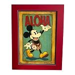 Disney Fine Art - Lithograph on Paper - Aloha by Trevor Carlton