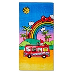 Universal Beach Towel - Hello Kitty Going to Universal Studios