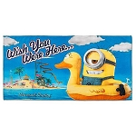 Universal Beach Towel - Despicable Me - Me Wish You Were Here