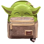 Disney Parks Loungefly Mini Backpack Bag - Yoda