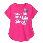 Disney Women's Shirt - Meet Me On Main Street USA