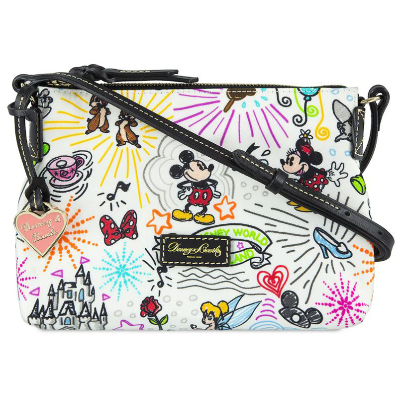 Disney Dooney & Bourke Bag - Disney Sketch Nylon Crossbody