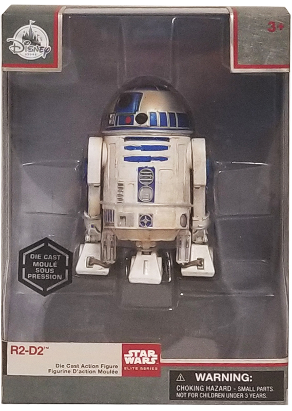 Disney Die Cast Action Figure - Star Wars Elite Series - R2-D2