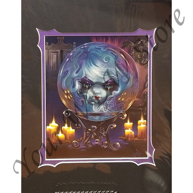 Disney Post Card - Madame Leota by Jasmine Becket-Griffith