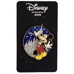 Disney Visa Pin - 2019 Mickey Mouse Tuxedo Rewards Cardmember Pin