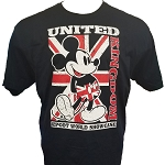 Disney Adult Shirt - EPCOT Pavilion - Mickey Mouse Union Jack