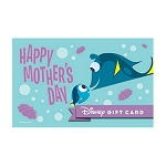 Disney Collectible Gift Card - Dory and her Mom - Mother's Day