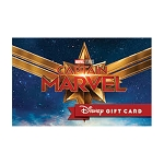 Disney Collectible Gift Card - Captain Marvel