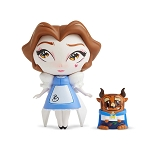 Disney World of Miss Mindy Vinyl Figure - Belle with mini Beast