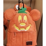 Disney Loungefly Mini Backpack - Pumpkin Mickey Mouse