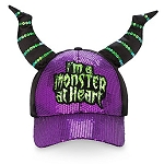 Disney Baseball Cap - I'm A Monster At Heart - Maleficent