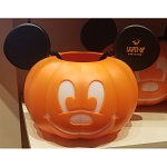Disney Halloween Bucket - Pumpkin Mickey Mouse - Light Up