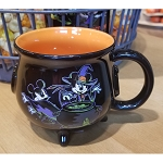 Disney Coffee Cup - Witch Cauldron Mug - Mickey & Minnie Mouse Halloween