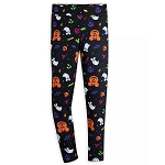 Disney Women's Leggings - Halloween Icons - Mickey Mouse