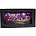Disney Framed Pin Set - 2019 Mickey's Halloween Party - 6 Pin Set