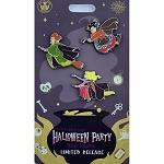 Disney Pin Set - Hocus Pocus - Sanderson Sisters on Brooms - MNSSHP 2019
