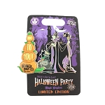 Disney Pin - Maleficent - MNSSHP 2019 - Glow in the Dark Slider - LE