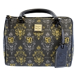 Disney Dooney & Bourke Bag - Barrel Bag - Haunted Mansion 50th Celebration - Passholder