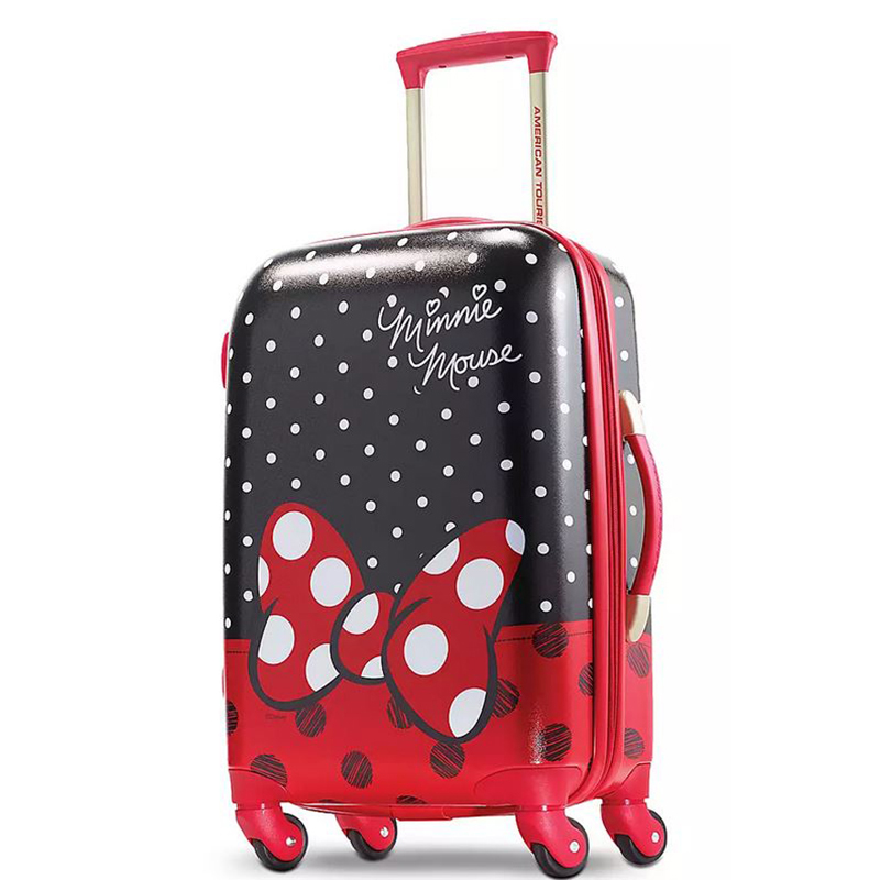 Disney Rolling Luggage - American Tourister Minnie Mouse Bow - 21