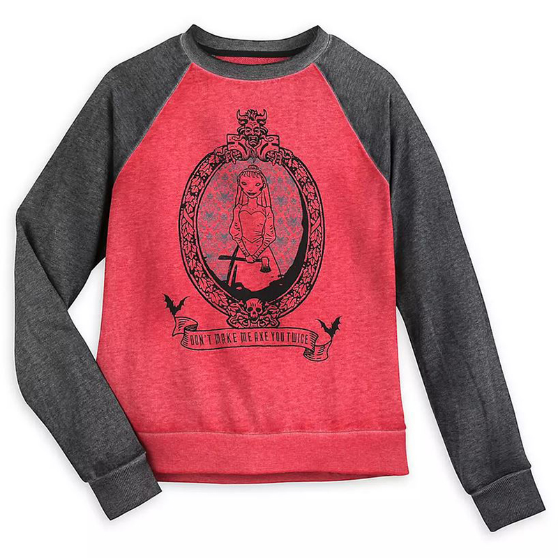 Disney Women's Shirt - The Haunted Mansion - Raglan Sleeves
