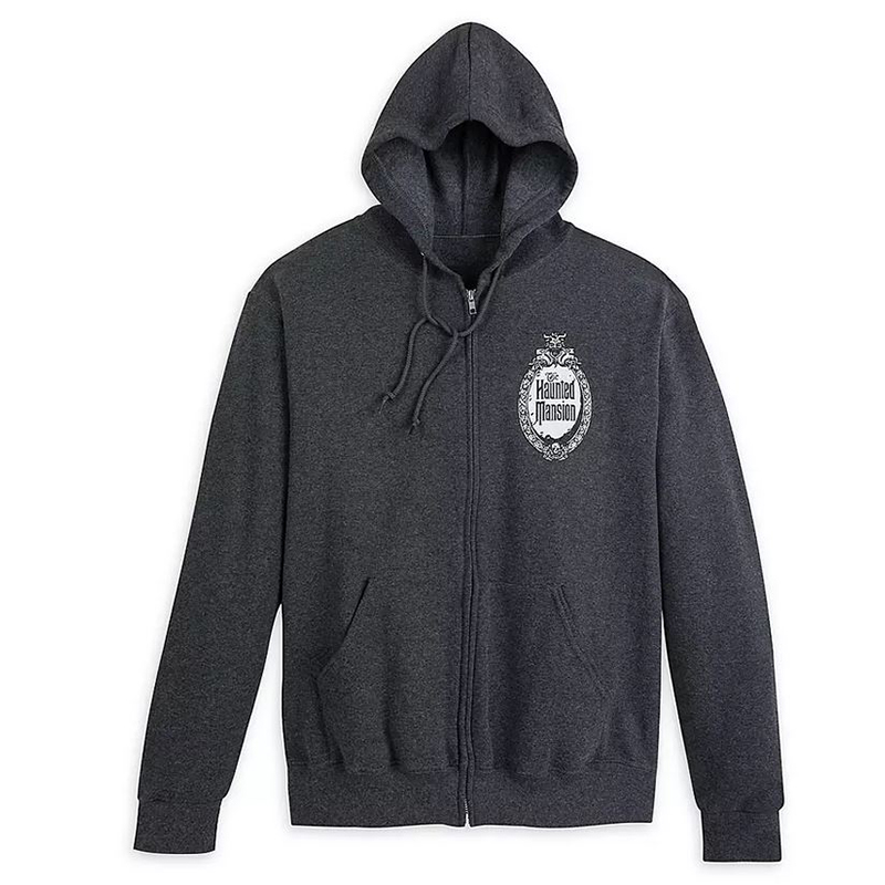 Disney Men's Hoodie - The Haunted Mansion Logo