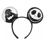Disney Minnie Mouse Ear Headband - The Nightmare Before Christmas