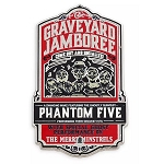 Disney Pin - Phantom Five - Graveyard Jamboree - Haunted Mansion