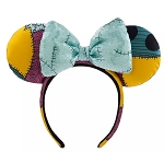 Disney Minnie Mouse Ear Headband - Sally - Nightmare Before Christmas