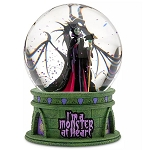Disney Light-Up Snowglobe - Maleficent - I'm a Monster at Heart