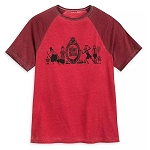 Disney Men's Shirt - The Haunted Mansion - Raglan T-Shirt