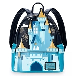 Disney Loungefly Mini Backpack - Cinderella Castle  - Walt Disney World
