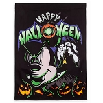 Disney Halloween Yard Flag Banner - Vampire Mickey Mouse - Happy Halloween