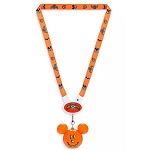Disney Lanyard - Light Up Mickey Mouse Halloween 2019