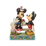 Disney Traditions by Jim Shore - Mickey and Minnie Blossoming Romance