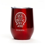 Disney Glass w/ Lid - Epcot Food & Wine Festival PASSHOLDER 2019 - Insulated