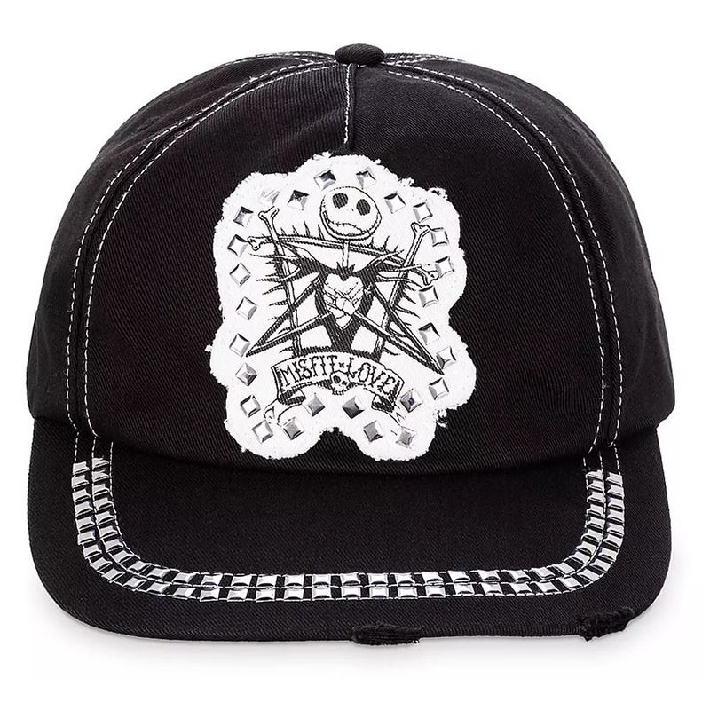 Disney Baseball Cap - Jack Skellington - Misfit Love - Studded