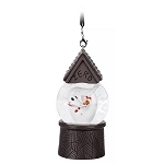 Disney Ornament - Zero Mini Snowglobe - Nightmare Before Christmas