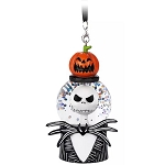 Disney Ornament - Jack Skellington Mini Snowglobe - Nightmare Before Christmas