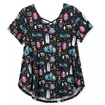 Disney Women's Shirt - The Haunted Mansion - Fashion Top