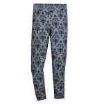 Disney Women's Leggings - The Haunted Mansion Wallpaper