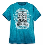 Disney Men's Shirt - The Haunted Mansion - There's Room For One More - Dip Dye