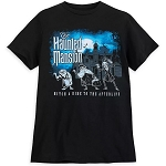 Disney Men's Shirt - The Haunted Mansion - Hitch A Ride To The Afterlife