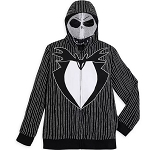 Disney Men's Zip Hoodie - Jack Skellington Costume