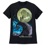 Disney Men's Shirt - The Nightmare Before Christmas - Jack and Sally