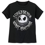 Disney Toddler Shirt - Jack Skellington I Could Be Your Worst Nightmare