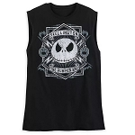Disney Men's Sleeveless Shirt - Jack Skellington - The Pumpkin King