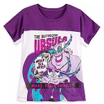 Disney Women's Shirt - The Ruthless URSULA - Wicked Sea Witch - Disney Villains Tabloid Cover