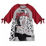 Disney Women's Shirt - Cruella De Vil - 101 Dalmatians - Disney Villains Tabloid Cover